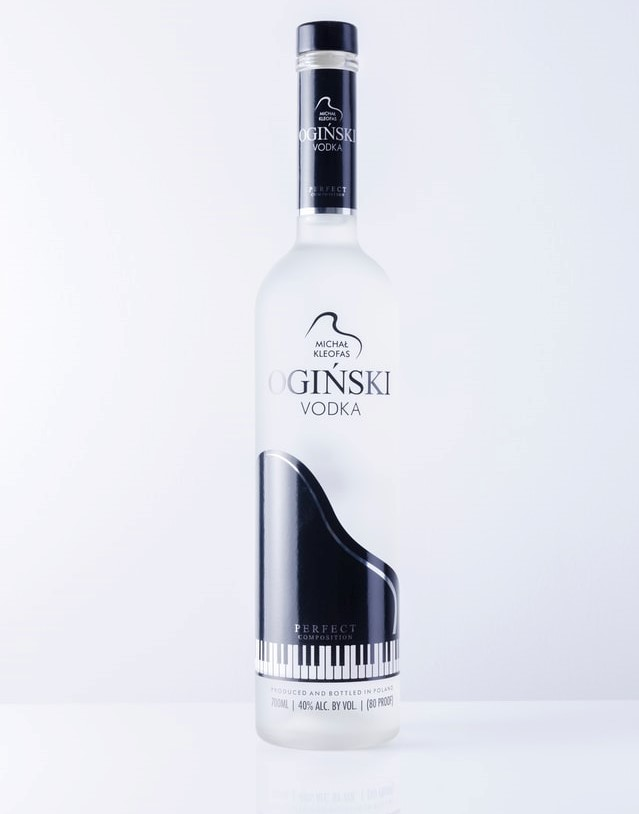 boost conversions with product photography; a product picture of a vodka bottle against a white background